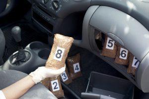 Drugs in car